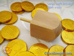 large dreidel large wood dreidel craft each