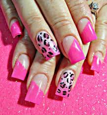 nail art cheetah nail art youtube artyoutube print with colourful