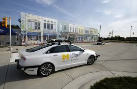 self driving car cities rush to build infrastructure u2014for self driving cars wsj