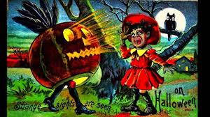 strange and quaint vintage halloween postcards collection youtube