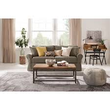 home decorators collection mayfair classic smoke twill fabric sofa home decorators collection mayfair classic smoke twill fabric sofa 1640010280 the home depot