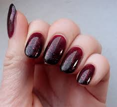 45 stylish red and black nail designs glitter nails ombre and