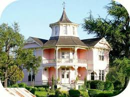 Contemporary Victorian Homes Pink House The Parrot Mansion In Roseburg Oregon Pink