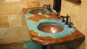undermount bathroom sink bowl copper undermount bathroom sink custom copper basins round valley