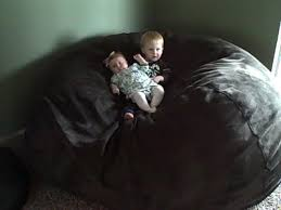 review u0026 giveaway lovesac giant bean bag chair mommies with cents