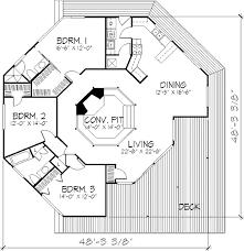 round house floor plans houseplans com contemporary main floor plan plan 320 398 1664 sq
