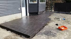 How Thick For Concrete Patio Goodstone Calgary U0027s Concrete Contractors