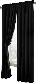 Black Curtains Bedroom Black Curtains Free Home Decor Techhungry Us