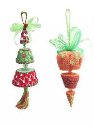 shoppe canvas company tree spinning ornaments