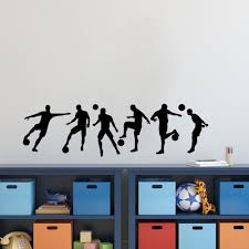 decal paper for glass picture more detailed picture about soccer soccer sportsman diy vinyl wall sticker boys bedroom room football wall art decal