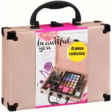 the color workshop beautiful you pink makeup case collection