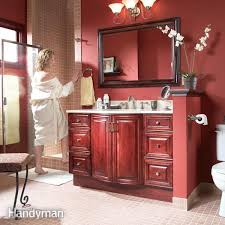 Lying Vanities Definition Diy Bathroom Storage Family Handyman