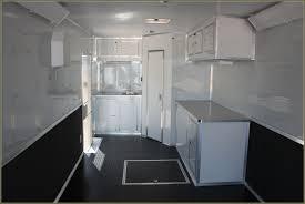 race car trailer cabinets enclosed race trailer cabinets home design ideas