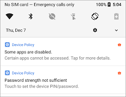 android security policy updates g suite updates protecting corporate data on non compliant