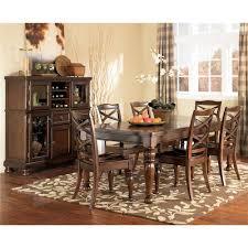 Ashley Porter Nightstand Ashley Furniture Porter 7 Piece Rectangular Extension Table