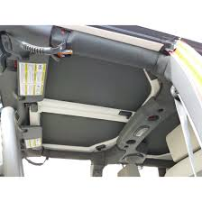 jeep hardtop 2016 hothead headliner hard top headliner rear side windows kit