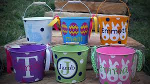 painted easter buckets personalized easter baskets ideas for all ages southern living