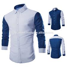 2015 new latest shirt designs tailored dress business cotton man