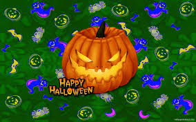 awesome halloween backgrounds cute ghost wallpaper wallpapersafari