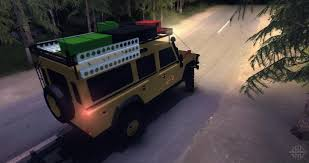 land rover camel rover defender 110 camel trophy for spin tires