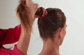 hair bun donut how to do a donut bun pictorial