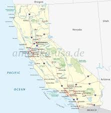 Death Valley Map Kalifornien Golden State Usa