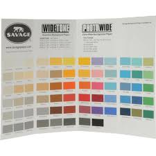seamless background paper savage color chart for background paper things i want