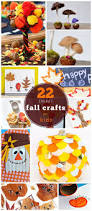 22 easy fall crafts for kids to make easy fall crafts and craft