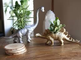 how to make a metallic dinosaur planter danmade watch dan