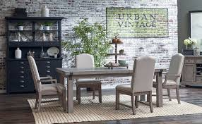 Prospect Hill Dining Room Set W Upholstered Chairs Formal - Dining room sets with upholstered chairs