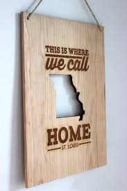 wood sign wall where we call home city state or country by richwoodcreations