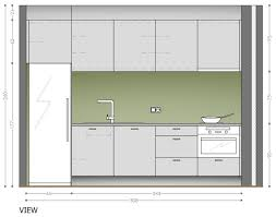 kitchen design ideas one wall kitchen layouts white minimalist