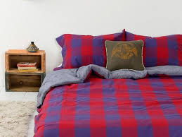 king size amazing king size bed blue red plaid patterned quilts