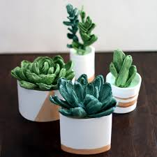 Paper Mache Ideas For Home Decor 70 Faux Cactus U0026 Succulent Projects And Ideas