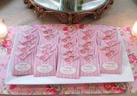 bridal tea party favors bridal tea party garden collection that party