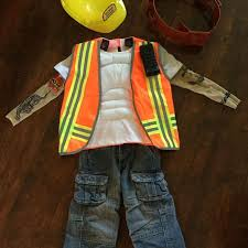 Construction Worker Costume Find More Construction Worker Costume Complete With Tattoos