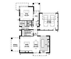 modern style house plan 4 beds 2 50 baths 3389 sq ft plan 496 17