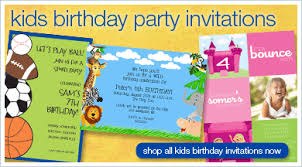 invitations for kids birthday party image collections invitation