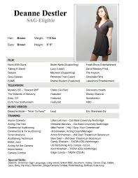Performing Arts Resume Template Best Way To Make A Resume Template Resume Builder