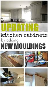 Adding Kitchen Cabinets Updating Our Kitchen Cabinets With New Mouldings The Creek Line