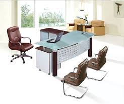 glass top l table office table glass top glass desk top large size of desktop desks