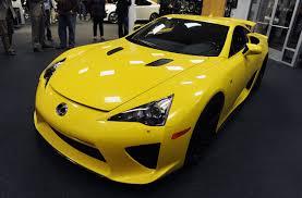 lexus lfa yellow super car cec lexus lfa design specs auto car reviews