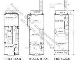 Narrow Townhouse Floor Plans 43 Best Narrow House Plans Images On Pinterest Architecture