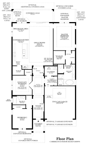 The Azure Floor Plan by Azure At Hacienda Lakes Estate Collection The Sabel Home Design