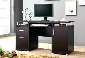 dark wood computer desk wood computer table office wooden computer tables small wood