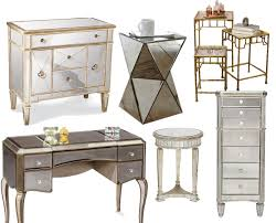 Mirrored Desks Furniture Furniture Interesting Hayworth Vanity For Inspiring Makeup