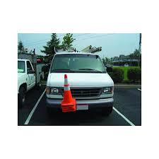 buyers tch12v traffic cone holder vertical bracket mount black