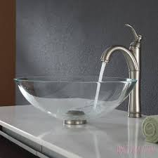 Glass Bathroom Sink Vanity Bathroom Sink U0026 Faucet Big Kitchen Sink Bathroom Sink Styles