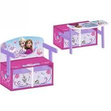 bureau bébé bois la reine des neiges bureau enfant en bois banc et pupitre achat