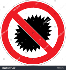 bacardi logo vector no durian allowed prohibited sign stock vector 261710651